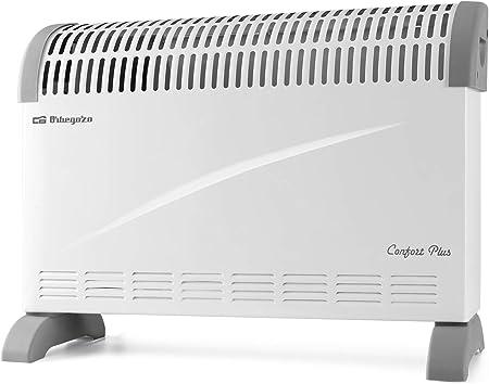 Orbegozo CV 2300 A Convector, 3 niveles de potencia, protección contra sobrecalentamiento, termo...