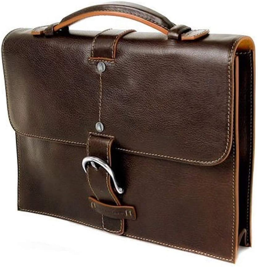 DDMilano Italian Genuine Leather Shoulder Bag Briefcase Handbag