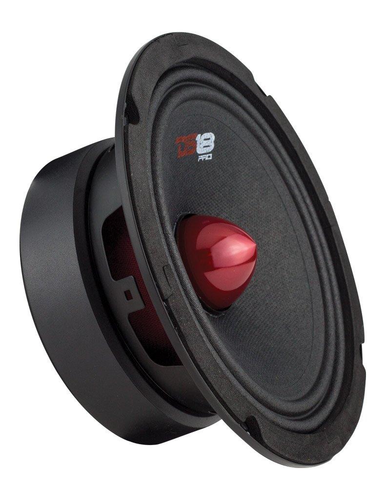 DS18 PRO-GM6B 6.5'' Bullet Midrange Loud Speaker 8-Ohms, 480W Max, 140W RMS, 1 Speaker