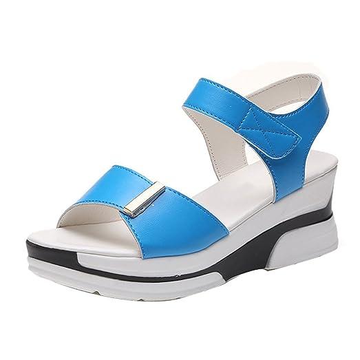 Zapatos azules de verano Culater para hombre AZ6VEKf