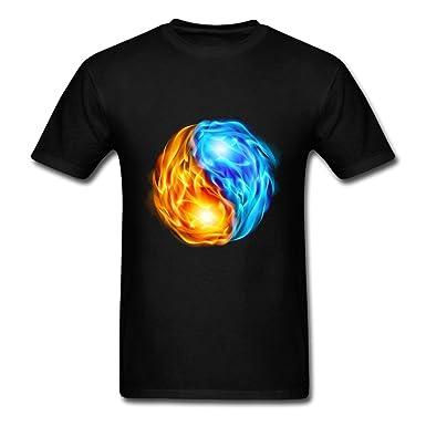 6cb19b80a22 Amazon.com  Chinese diagram of universe Mens Short Sleeve T-Shirt ...