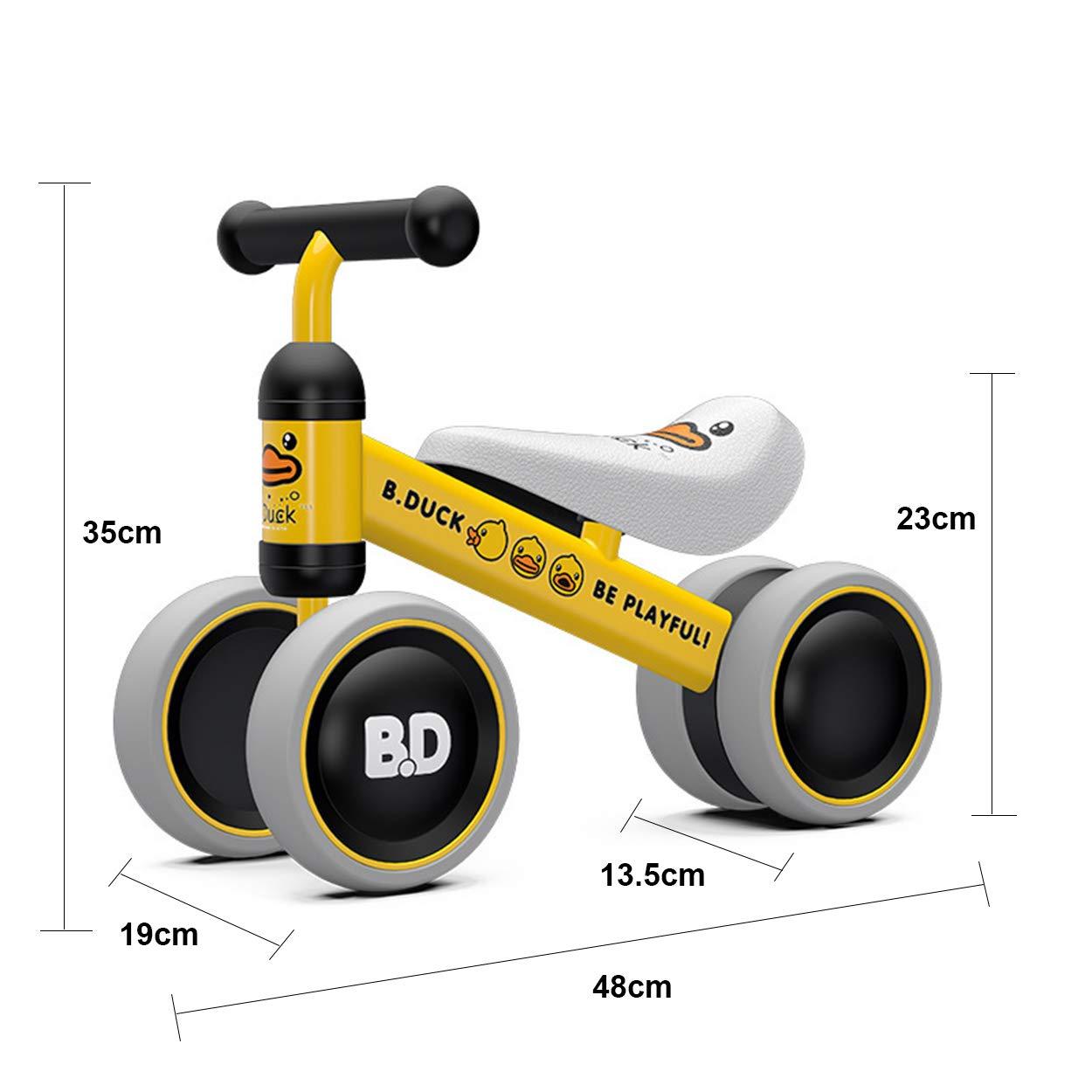 Z&S Bicicleta de Equilibrio para bebés Andador de Juguete Paseo ...