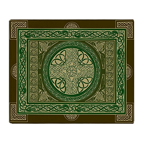 CafePress - Celtic Cross Blanket / Tapestry - Soft Fleece Throw Blanket, 50