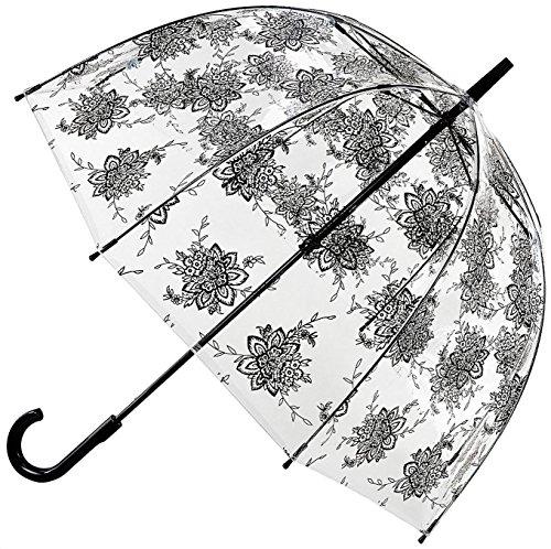 Fulton Women's Birdcage 2 Dome Umbrella Flora
