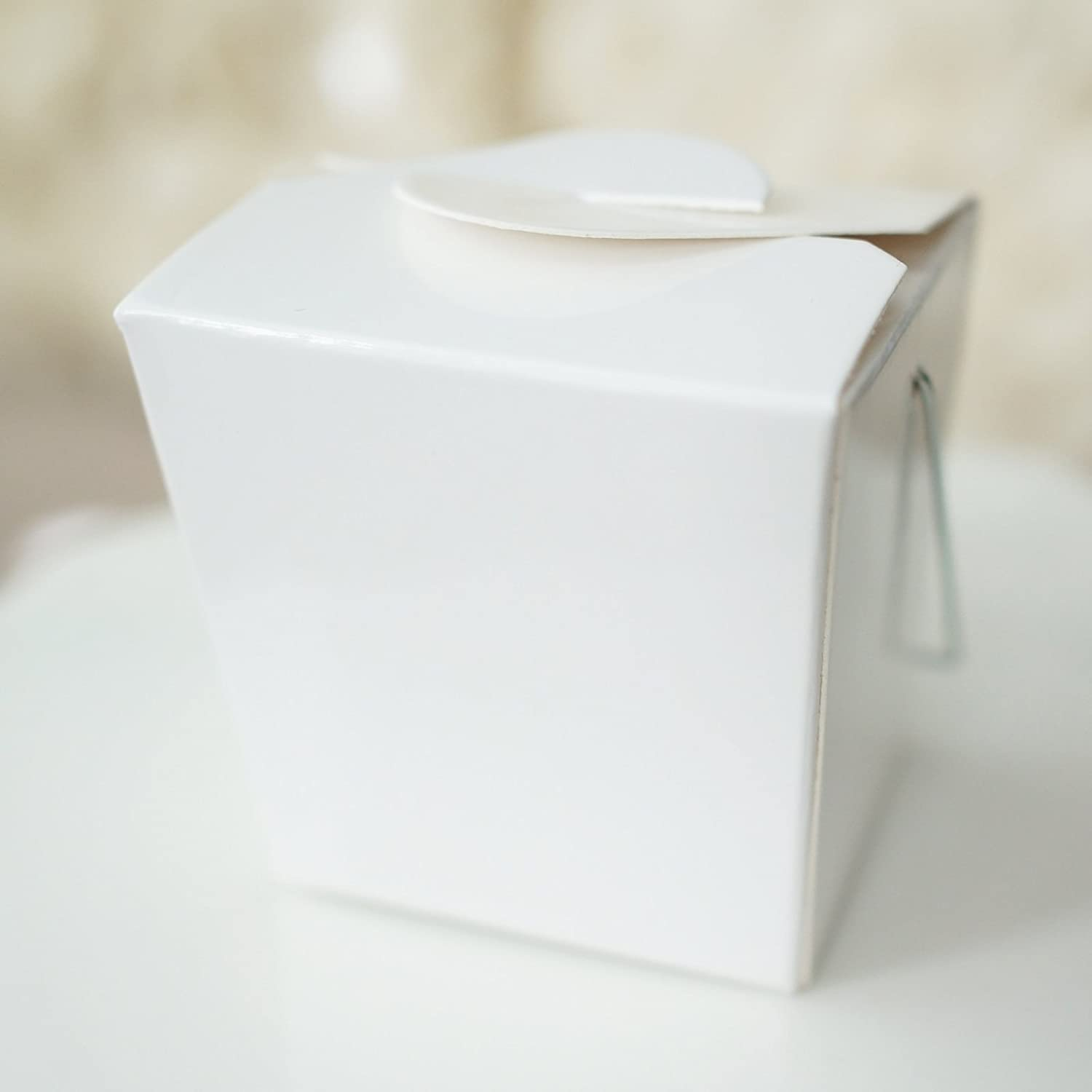 Amazon.com: Mini White Take out Boxes, pack of 12