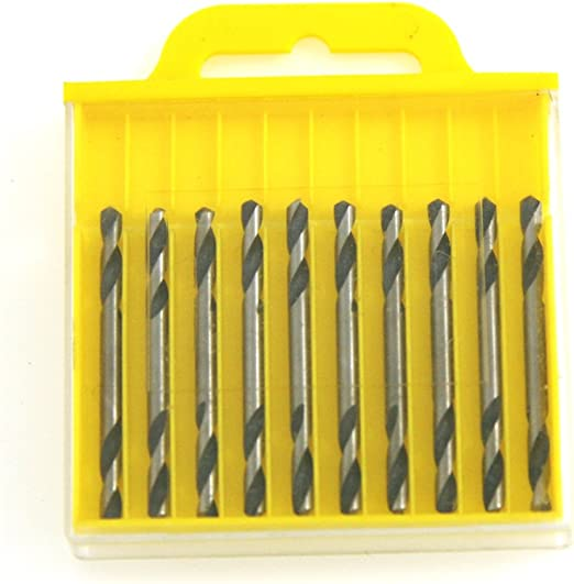 Cobalt M35 Drill Bit Set 10 Piece 1//8 inch DOUBLE ENDED ! NEW