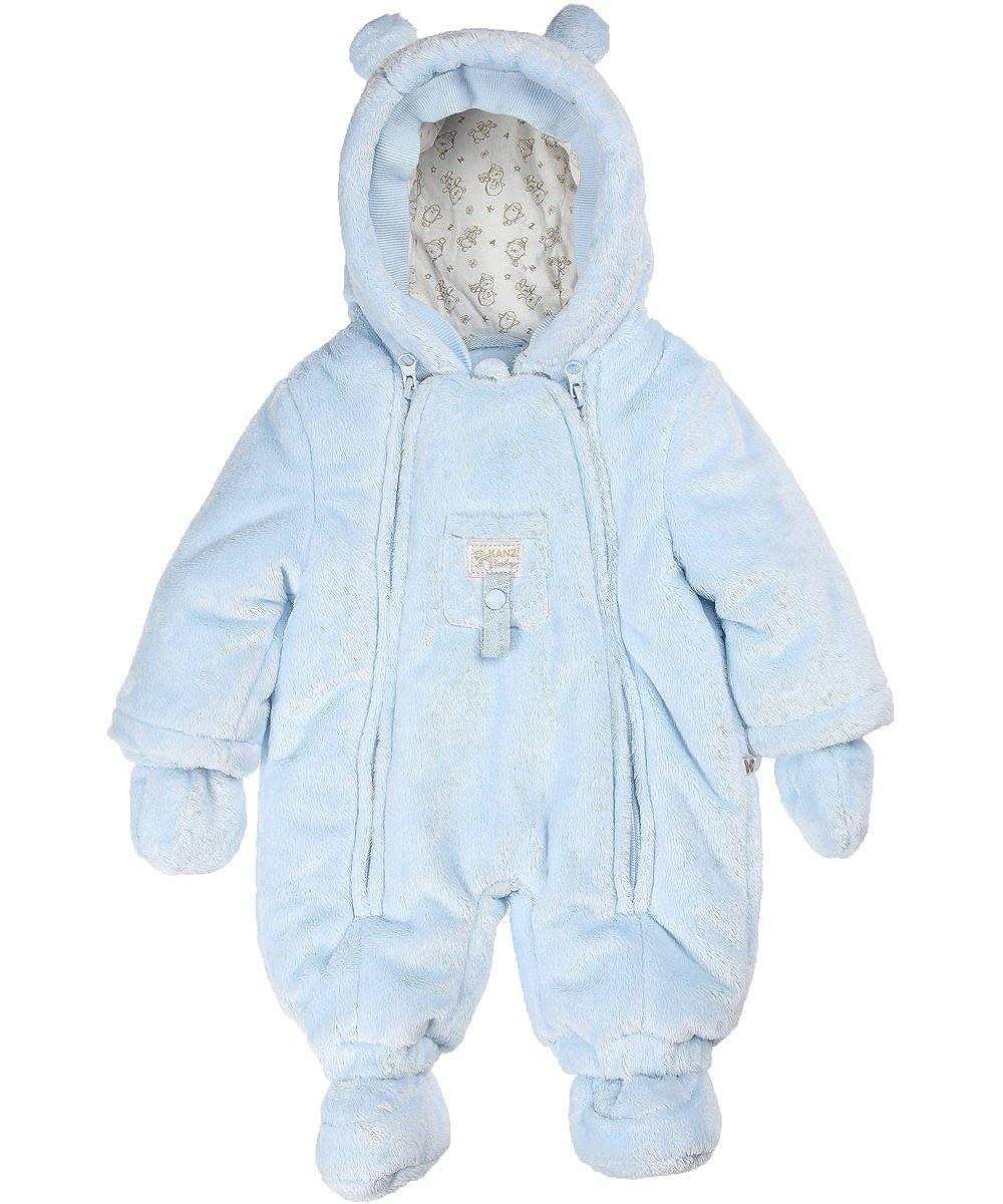 Kanz Baby Overall Winteranzug mit Fäustlinge Frosty Times 0003508 0003508_Unisex Baby