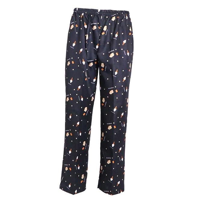 Homyl Pantaloni Da Cuoco Elastici Uniforme Lavoro Comodi Indumenti Trouser  Pant Cordino  Amazon.it  Abbigliamento 00f65f1b4ce5