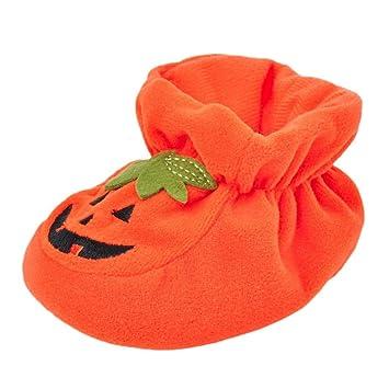 f74e9a7d92611 Halloween 0-18 mois Bebe Naissance Chausson Verlous interieur Premier pas  Chaussure Longra Unisex Bébé