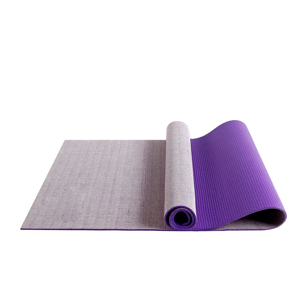 AILI Estera de yoga de lino antideslizante resistente al desgaste ...