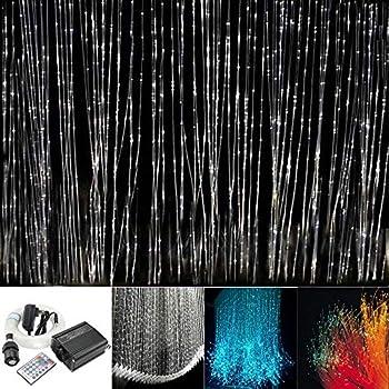 16w Rgbw Fiber Optic Curtain Light Kit Flash Point