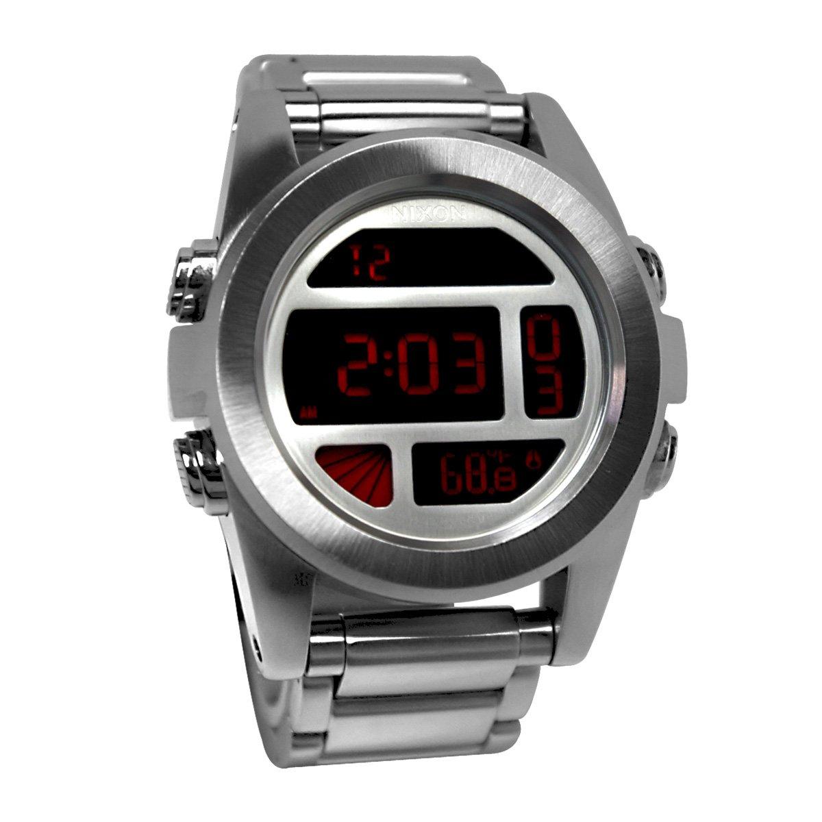 Reloj Nixon Cab. Digital acero esf. negr