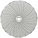 "Dickson C663 Chart Paper, 7-Day, 0-50°C, 6"" (Pack of 60)"
