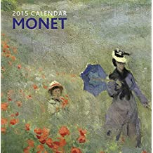 2015 Calendar: Monet: 12-Month Calendar Featuring Wonderful Photography And Space In Write In Key Events