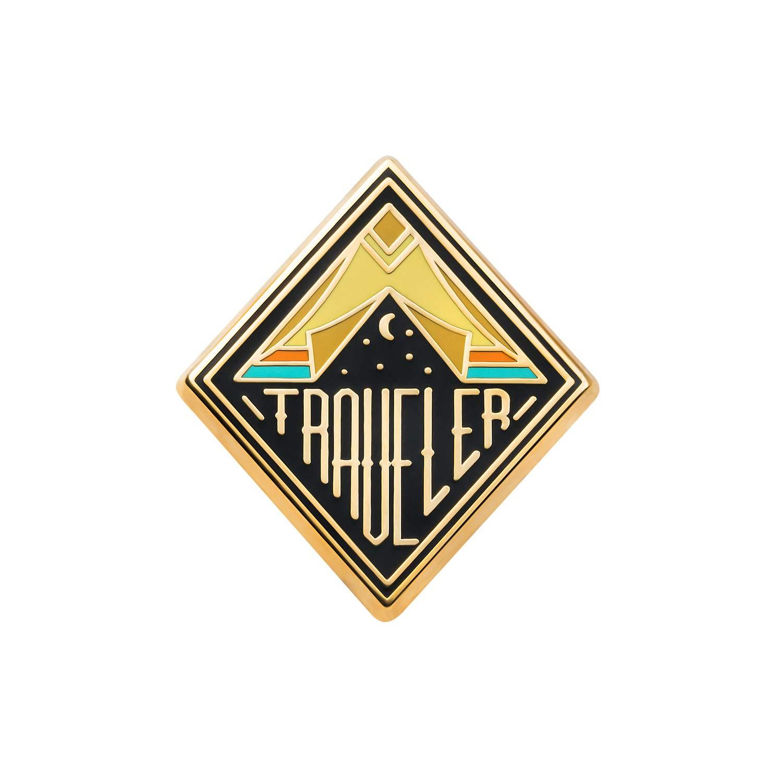 Asilda Store Traveler Lapel Enamel Pin 4336833849