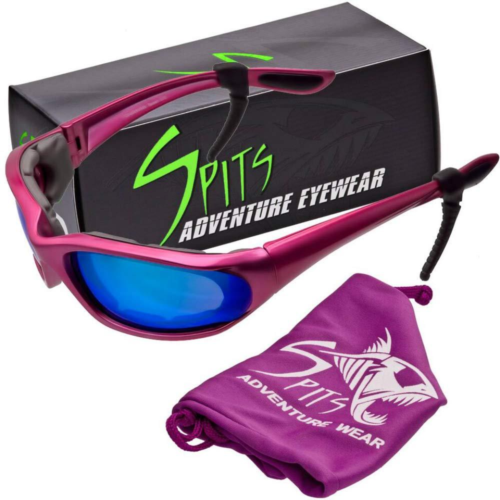 in Pink Spits Eyewear Kickstand IISmall Frame Foam Padded Sunglasses