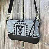 Willamette Crossbody in Pendleton® wool and full grain leather