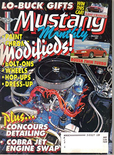 (Mustang Monthly Magazine, December 1991 (Vol. 13, No. 7))