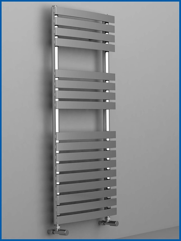 calentador toallas Dise/ño ba/ño Radiador PUKITA Cromo 780 x 500 mm