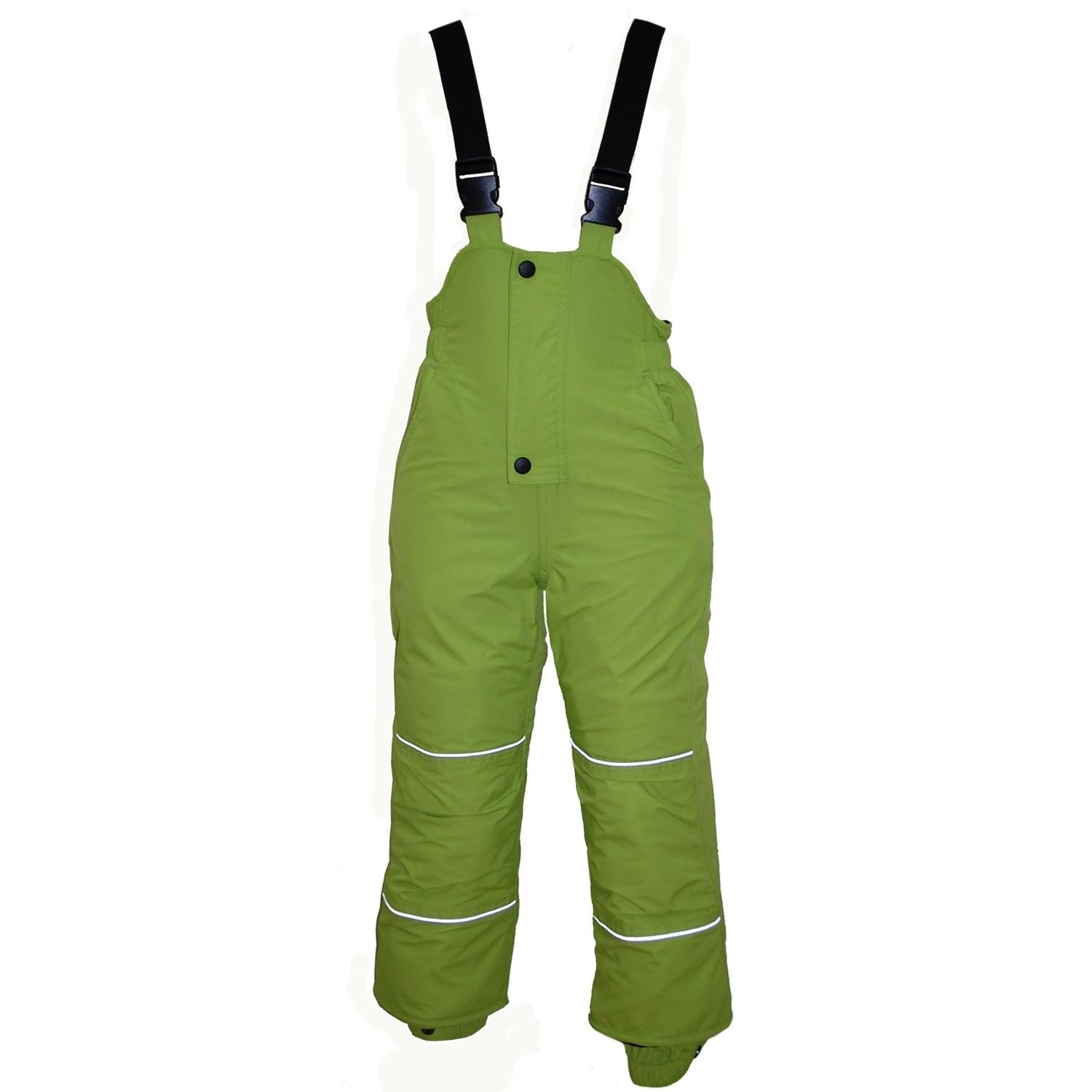 Outburst - Baby boys ski pants snow pants Waterproof 10,000 mm water column, green
