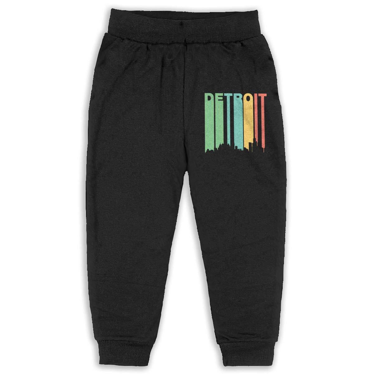 Vintage Detroit 2-6T Boys Active Jogger Soft Pant