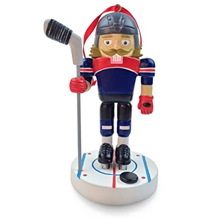 hockey nutcracker resin christmas ornament hockey ornaments by chalktalk sports - Hockey Christmas Ornaments