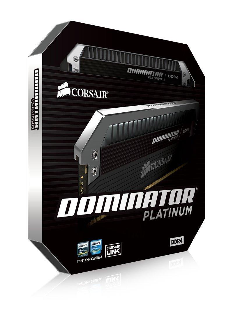 CORSAIR DOMINATOR Platinum Series 32GB (2 x 16GB) DDR4 DRAM 3000MHz C15 memory kit  (CMD32GX4M2B3000C15) by Corsair
