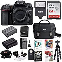 Nikon D7500 DSLR Camera Body with Bag w/64GB Card & Battery Bundle