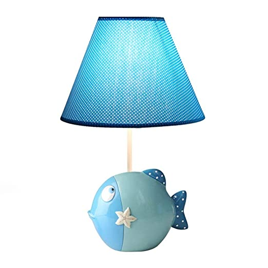 ZR Lámpara de Mesa para niños bellamente Decorada de Dibujos ...