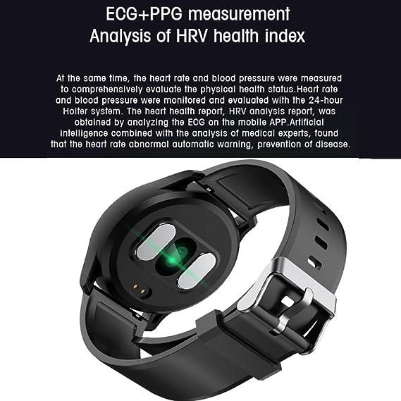 Amazon.com: Evin Reloj inteligente, impermeable E07 Bluetooth 4.0 pulsera inteligente Pantalla OLED pulsera inteligente con podómetro para ver dormir ...