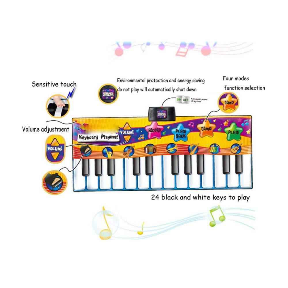 QXMEI Children's Piano Dance Mat Baby Carpet Puzzle Dance Mat 180CM by QXMEI (Image #4)