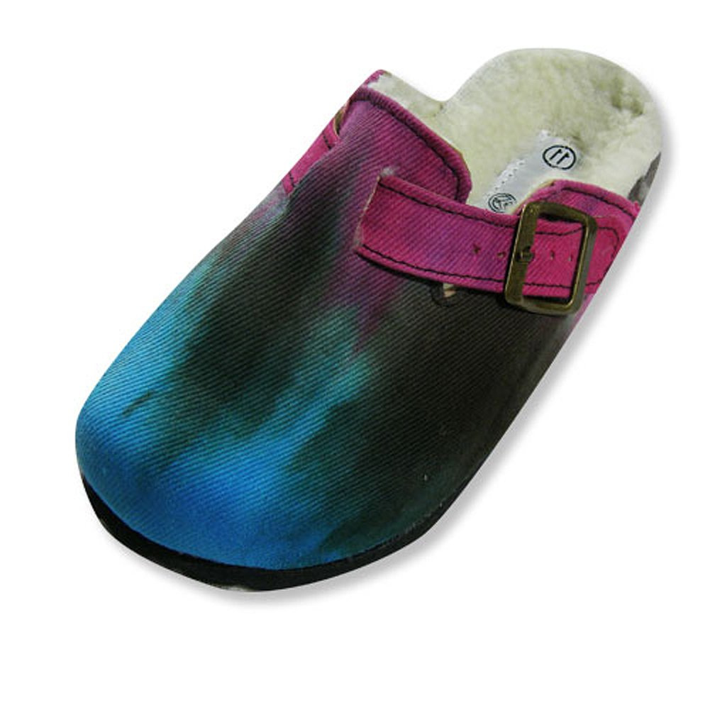 Sole Kool - Girls Tie Dyed Clog, Turquoise