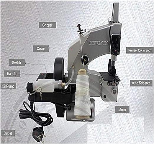 BAOSHISHAN Portátil eléctrica máquina de coser automático ...