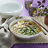 Corelle Chip Resistant Meal Bowl 46 oz, 4 Pack, White