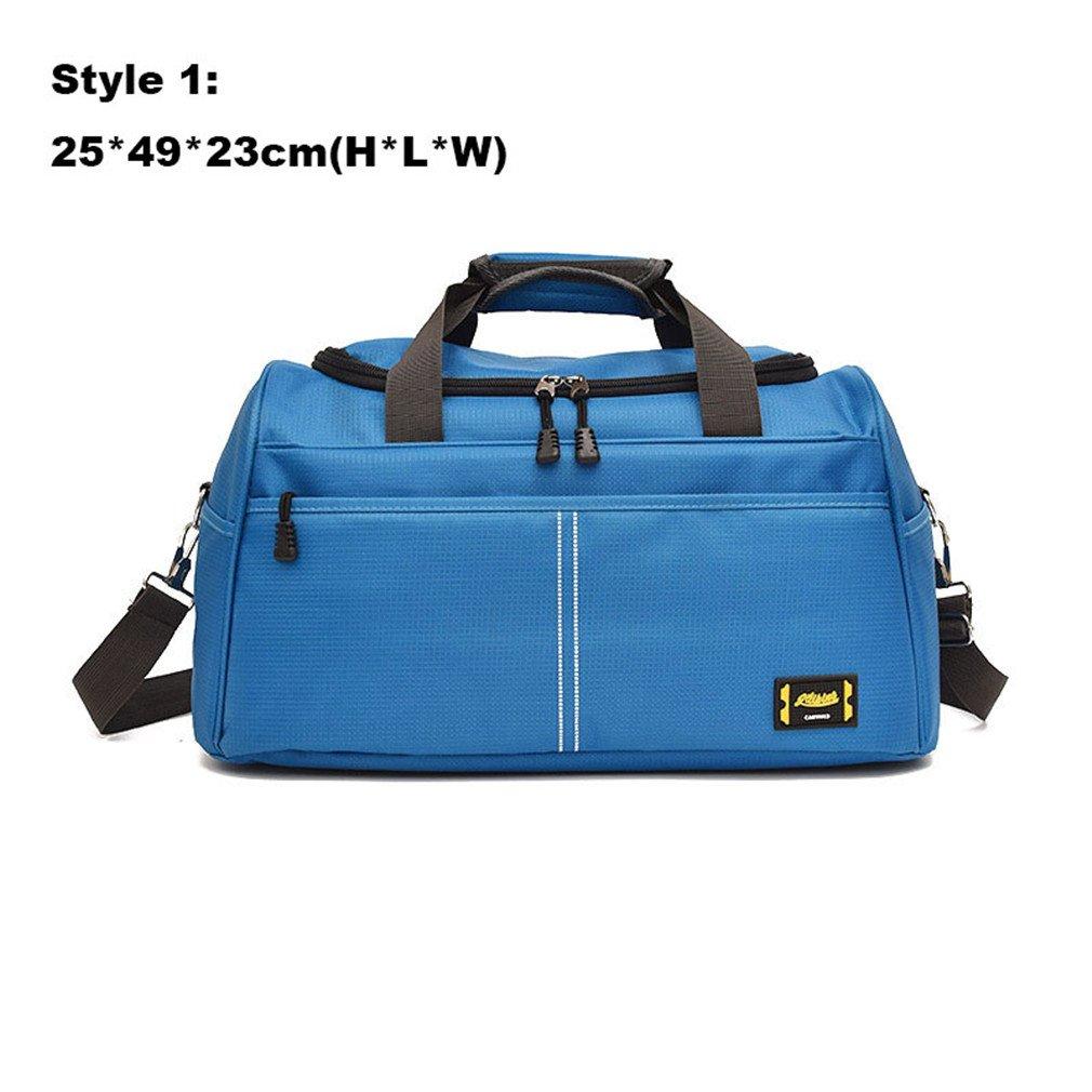 Breadaye Sport Bag Training Gym Bags Men Woman Fitness Handbags Sporting Shoulder Tote For XA398WA 1 sky blue