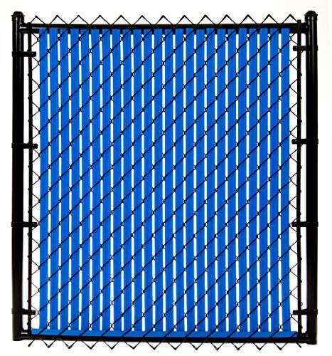 6ft Royal Blue Ridged Slats 174 For Chain Link Fence Hardware