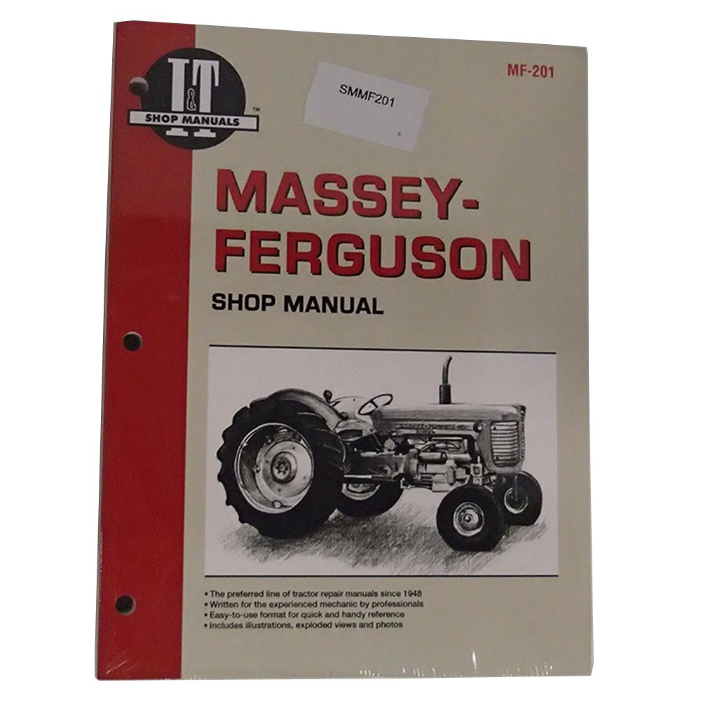 Massey-Ferguson Shop Manual Part No: A-SMMF201: Amazon.com: Industrial &  ScientificAmazon.com