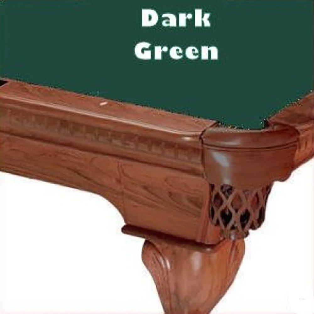 8 grande verde oscuro Proline clásico 303 Teflon billar mesa de billar paño fieltro: Amazon.es: Deportes y aire libre