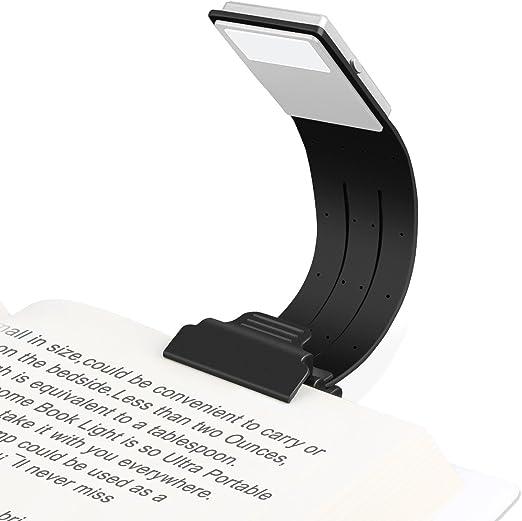 Lámpara de Lectura, Etmury Luces de Lectura Clip Luz USB ...