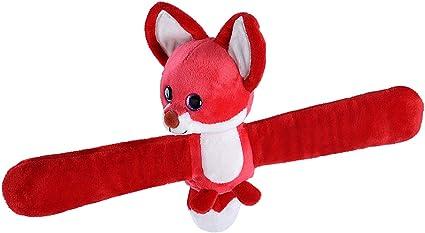 Best Stuffed Animals For Boy, Amazon Com Wild Republic Scented Huggs Fox Plush Toy Slap Bracelet Stuffed Animal Kids Toys Strawberry 8 Toys Games