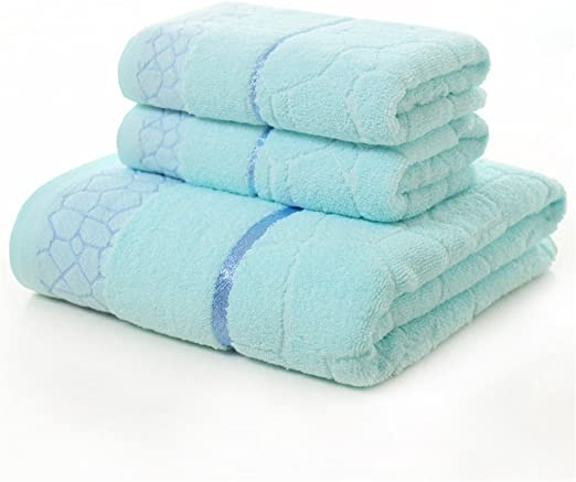 BB.er Conjunto de baño de toalla de algodón baño absorbente suave ...