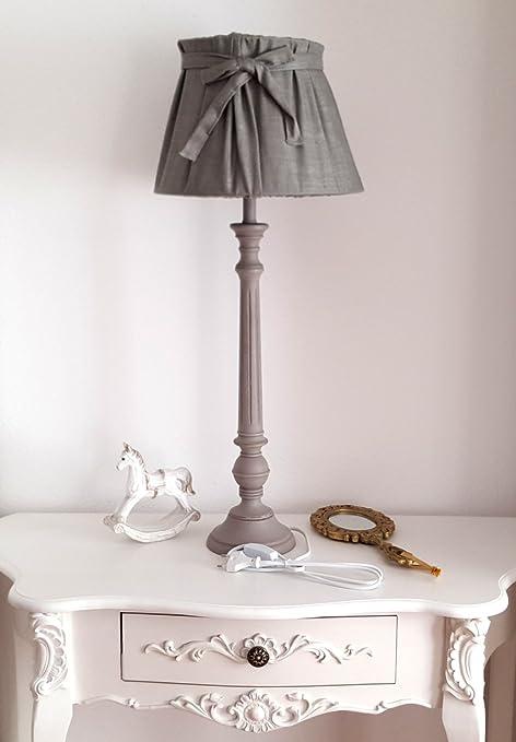 Weiß, 70er Jahre Nachttischlampen Set