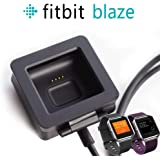 Awinner Charging Clip For Fitbit Blaze, Replacement USB Charger Adapter Charge Cord Charging Cable for Fitbit Blaze Smart Fitness Watch (1-Pack)
