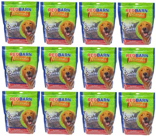 Red Barn Bully Slices 6.75Lbs (12 x 9oz Bags), My Pet Supplies