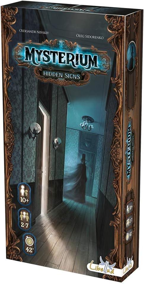 Asmodee- Mysterium: Hidden Signs - español, Color (MYS02ES ...