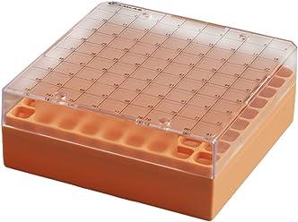 Clear Camlab Plastics RTP//78125-C PCR Rack with Lid