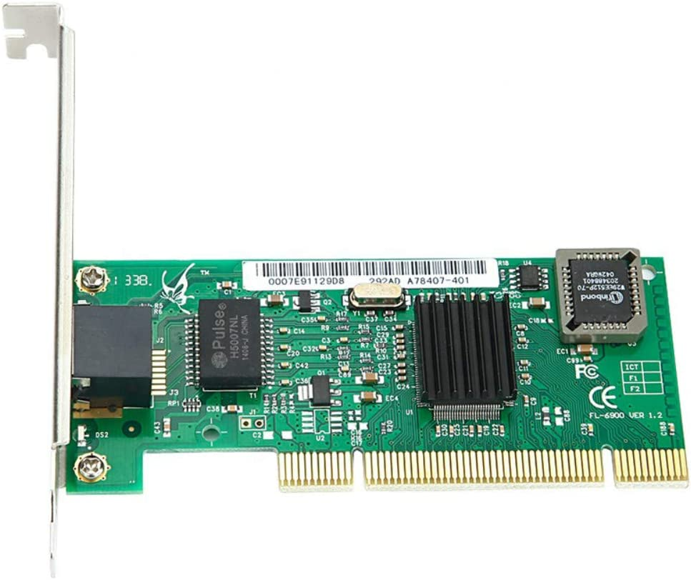 MEO 10//100//1000M Gigabit pci Express Network Card with bootrom diskless Network Card LAN Card Black