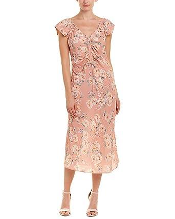 45b3a8602d0c Love Sam Womens Serena Midi Dress, S, Pink at Amazon Women's ...