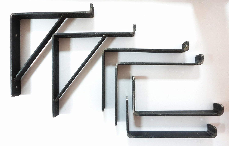 Rustic Shelf Brackets Scaffold Board Bracket x 2 Heavy Duty Industrial UK  Made in 3 Styles