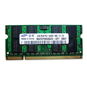 973e699fe81b8 Amazon.in  Buy Samsung 2048DDR2NB6400-SAM 2GB DDR2 RAM 800MHz PC2-6400  200-Pin Laptop SODIMM Online at Low Prices in India